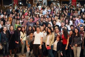 Şovmen Ceyhun Yılmaz, Çukurova Üniversitesi'nde Öğrencilerle Buluştu