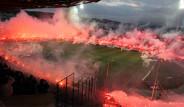 Yunan Taraftarlar Stadyumu Yaktı