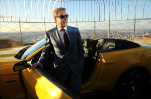 Yeni Ford Mustang, Empire State'in Tepesinde