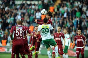 Bursaspor: 1 – Elazığspor: 0 (İlk Yarı)