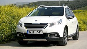 Peugeot 2008 ile Yola Üstten Bakış