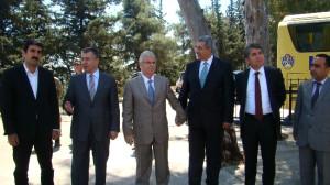 Vali Lekesiz Kırıkhan'da İncelemelerde Bulundu