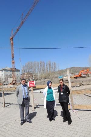 Eleşkirt'te 50 Yataklı Devlet Hastahanesi İnşaatı Başladı