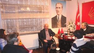 Başkan Altınok Öz'e CHP Maltepe Yönetiminden Ziyaret