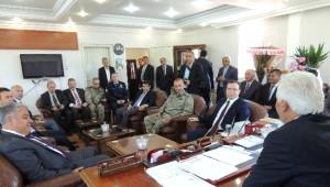 Ağrı Valisi Mehmet Tekinaslan'ın Eleşkirt Belediyesine Hayırlı Olsun Ziyareti