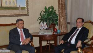 Tataristan Cumhurbaşkanı Minnihanov Antalya'da