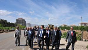 Tecde-Yeşilyurt Yolu Prestij Bulvara Dönüşüyor