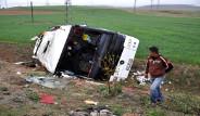 Kırşehir'de Otobüs Kazası