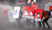 Taksim'de Eylemcilere Polis Müdahalesi