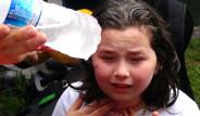 Evde Bulunan Çocuklar Biber Gazından Etkilendi