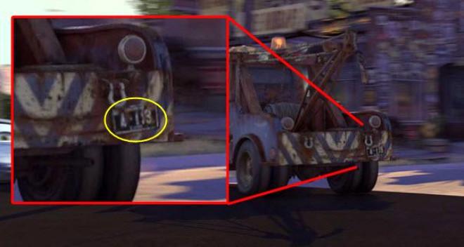 Animasyon Filmlerinde A 113'ün Gizemi Çözüldü