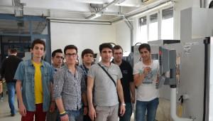Nurettın Dolgun Teknık ve Endüstrı Meslek Lisesi Proje Ekibi Yurda Döndü