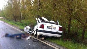 Kahramanmaraş'ta Otomobil Takla Attı: 1 Ölü