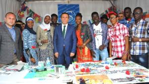 Başkan Genç, Yabancı Öğrencilerle Buluştu