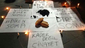 Soma'daki Facia Tüm Yurtta Protesto Ediliyor