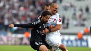 Beşiktaş: 1 - Gençlerbirliği: 0 (İlk Yarı)