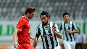 Bursaspor: 1 - Gaziantepspor: 1 (İlk Yarı)