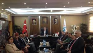 Özbek, Belediyeleri Ziyaret Etti, Demirözü Barajında İncelemelerde Bulundu