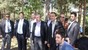 AK Parti Genel Başkan Yardımcısı Şentop Ağrı'da