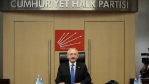 CHP'de Yeni Myk İlk Toplantısını Yaptı