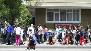 Deprem Sonrası Yurttaşlar Sokağa Döküldü