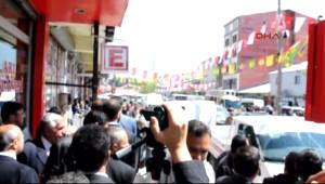 Yıldırım'ı Protesto Eden BDP'lileri Sakık Sakinleştirdi