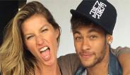 Neymar ile Gisele Bundchen Vogue'a Kapak Oldu