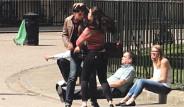 Londra'da 'Erkeğe Şiddet' Deneyi Yapıldı