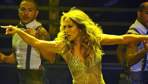 Jennifer Lopez Halk Plajında Objektiflere Takıldı