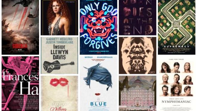 2013'ün En İyi Film Afişleri