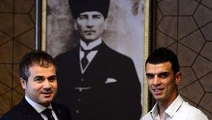 Bakan Çağatay Kılıç, Kenan Sofuoğlu'nu Kabul Etti