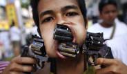 Tayland'da Yapılan Vejetaryen Festivali