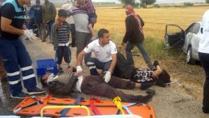 Kırıkhan'da Trafik Kazası: 6 Yaralı