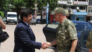 Jandarma Genel Komutanı Orgeneral Servet Yörük Trabzon'da
