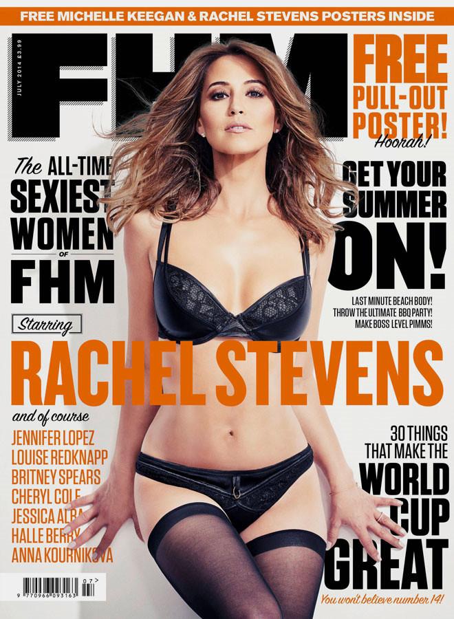 Tüm Zamanların En Seksi Kadını Rachel Stevens