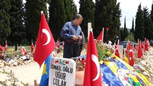 Başkan Çerçi Maden Şehitliğini Ziyaret Etti