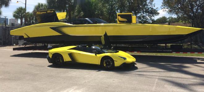 Bir Adam Lamborghini Tekne Yaptı