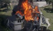 800 Bin Dolarlık Villayı Ateşe Verdiler