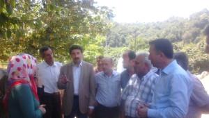Ak Partili Milletvekilleri Karapürçek'te Selden Etkilenen Bölgelerde İnceleme Yaptı