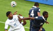 Fransa Honduras Maçının Fotoğrafları
