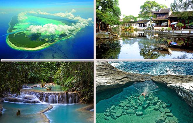 Doğa Harikası Seyahat Noktaları