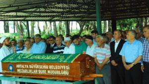 Hacı Mahmut Boztepe, Boztepe'de Toprağa Verildi