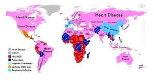 Hangi Ülkede İnsanlar En Çok Neden Ölüyor?