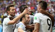 Fransa İsviçre Maçının Fotoğrafları