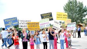 Bursa'da Köylülerin Eyleminde Dehşet Dakikaları