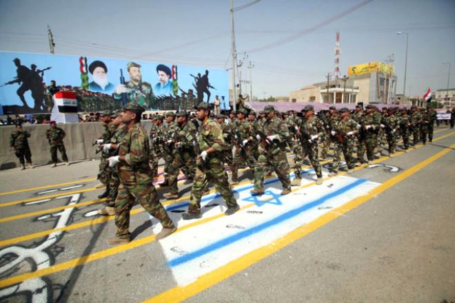 Sadr Grubu Işid'e Karşı Kefenleri Giydi