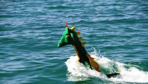 Van Gölü Canavarından Jet Ski Şov