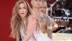 Jennifer Lopez, Central Park'ta Konser Verdi