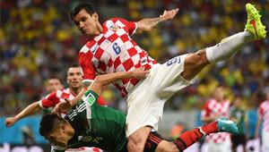 Meksika Hırvatistan Maçının Fotoğrafları