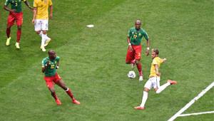 Brezilya Kamerun Maçının Fotoğrafları